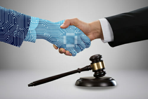 Robots not yet in courtrooms but the verdict is out on AI lawyers